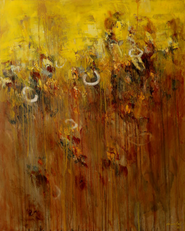 Painting, oil, abstract, artwork by Rupert Cefai