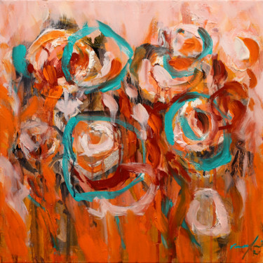 Abstract Painting, oil, abstract, artwork by Rupert Cefai
