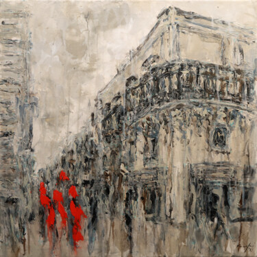 """Painting titled """"republic str. 21.113"""" by Rupert Cefai, Original Art, Acrylic Mounted on Stretcher frame"""