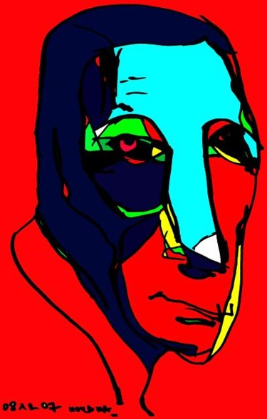 10.6x6.7 in ©2007 by Rybalko