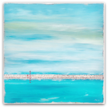 """Painting titled """"Long Summer Day"""" by Sabina D'Antonio, Original Art, Acrylic Mounted on Stretcher frame"""