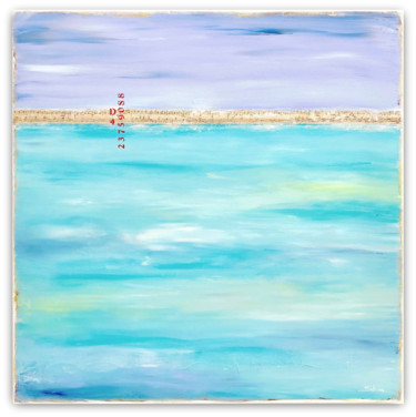 """Painting titled """"Tropical Escape"""" by Sabina D'Antonio, Original Art, Acrylic Mounted on Stretcher frame"""