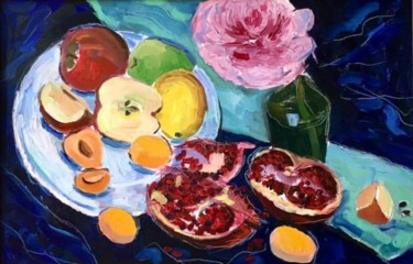 Still life Painting, oil, impressionism, artwork by Сабина Пыраева