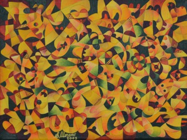 11,8x15,8 in ©2003 par Salvador  Moreno
