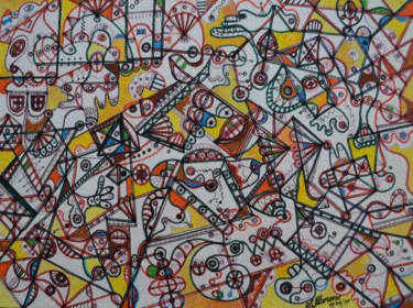 11,8x15,8 in ©1995 par Salvador  Moreno