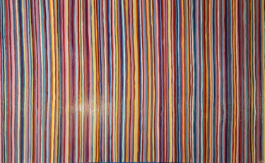 """Painting titled """"Colors Vibrations 2"""" by Guena, Original Art, Acrylic Mounted on Stretcher frame"""