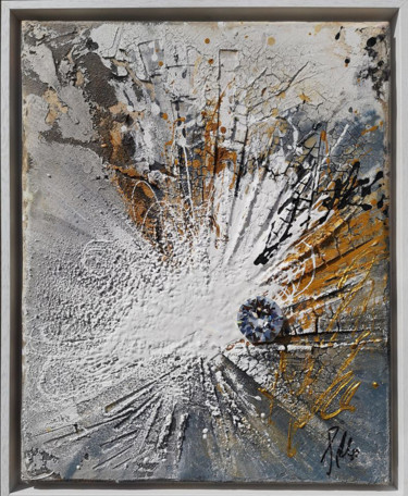 Abstract Painting, acrylic, expressionism, artwork by Silvia Schuessler