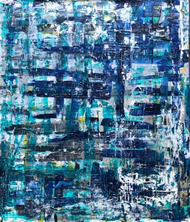 """Painting titled """"Cortex confusion"""" by Andreas Angleitner, Original Art, Acrylic"""