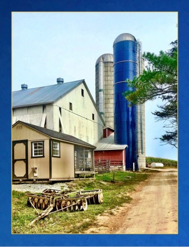 """Photography titled """"Gap Hill Farm in th…"""" by Stephen D. Smith, Original Art, Digital Photography"""