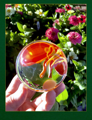 """Photography titled """"Crystal Ball Floral…"""" by Stephen D. Smith, Original Art, Digital Photography"""