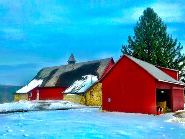 """Photography titled """"Chester County Red…"""" by Stephen D. Smith, Original Art, Digital Photography"""