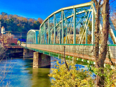 """Photography titled """"Schuykill River Sce…"""" by Stephen D. Smith, Original Art, Digital Photography"""