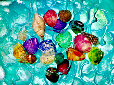 """Photography titled """"Seashell Collection…"""" by Stephen D. Smith, Original Art, Digital Photography"""