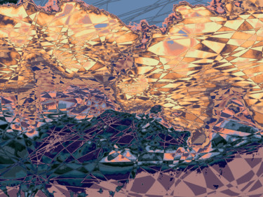 Digital Arts, 2d digital work, abstract, artwork by Kenneth Grzesik
