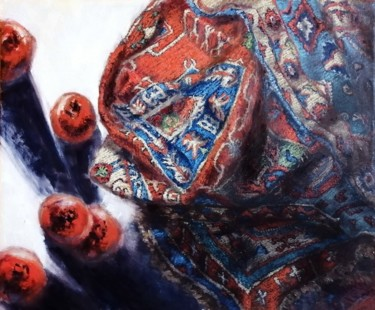 World Culture Painting, oil, impressionism, artwork by Dilbar Suleymanova