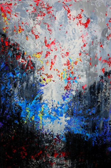 Painting, acrylic, abstract, artwork by Alex Senchenko