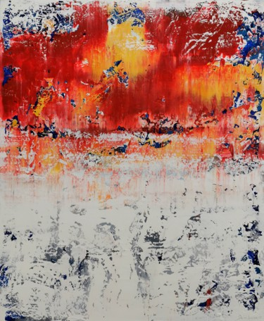 """Painting titled """"Abstract 2149"""" by Alex Senchenko, Original Art, Acrylic Mounted on Stretcher frame"""