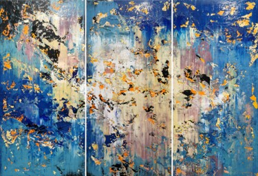 """Painting titled """"Abstract 2171"""" by Alex Senchenko, Original Art, Acrylic Mounted on Stretcher frame"""