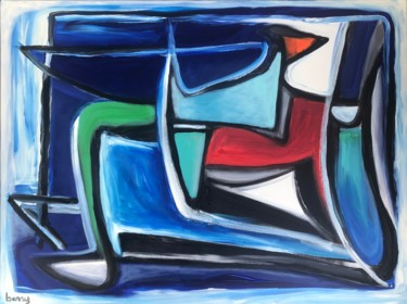 Painting, acrylic, abstract, artwork by Serge Berry