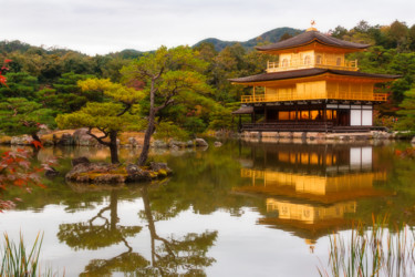 """Photography titled """"The Golden Pavilion"""" by Serge, Original Art,"""