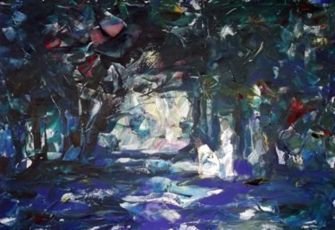 """Painting titled """"The-Road2-170x120-2…"""" by Sergej Jakovlev, Original Art,"""
