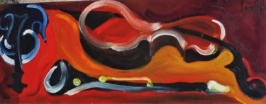 16.9x43.7 in ©1972 by Servin