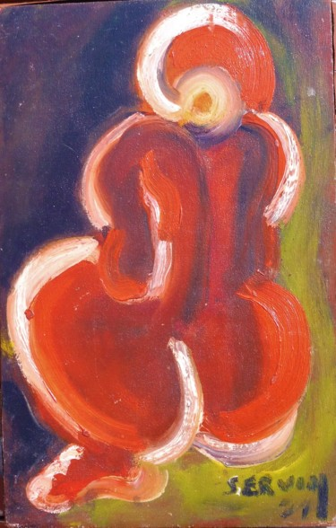 14.2x9.1 in ©1971 by Servin