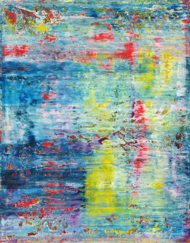 """Painting titled """"Abstract Painting 1…"""" by Shamanov Vadim, Original Art, Oil"""