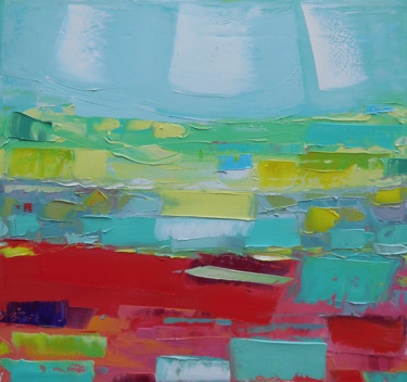"""Painting titled """"Perfect Place 6"""" by Andria Shengelia, Original Art, Oil"""