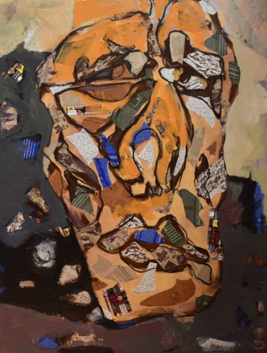 """Painting titled """"Aging from Human Be…"""" by Shirin Moayya, Original Art, Acrylic"""