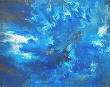 """Painting titled """"stormy"""" by So Hyon Kim, Original Art, Acrylic"""