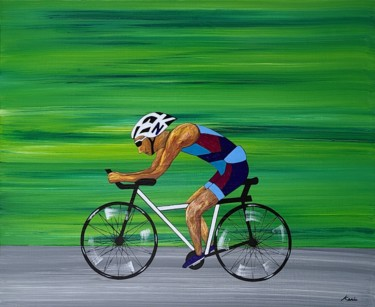 """Painting titled """"speed up1"""" by So Hyon Kim, Original Art, Acrylic"""