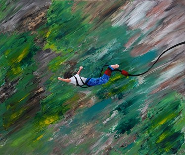 """Painting titled """"let me free1"""" by So Hyon Kim, Original Art, Acrylic"""