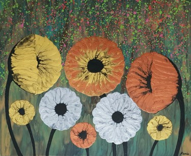 """Painting titled """"nature of flower2"""" by So Hyon Kim, Original Art, Acrylic"""