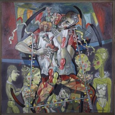 36.5x36.6 in ©1986 by Victor Shmokhin