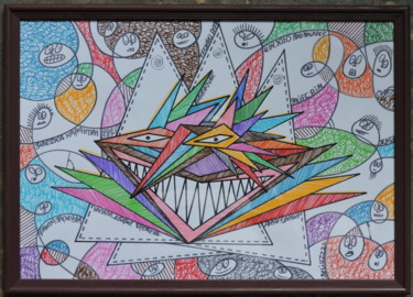 Humor Painting, marker, abstract, artwork by Сиб
