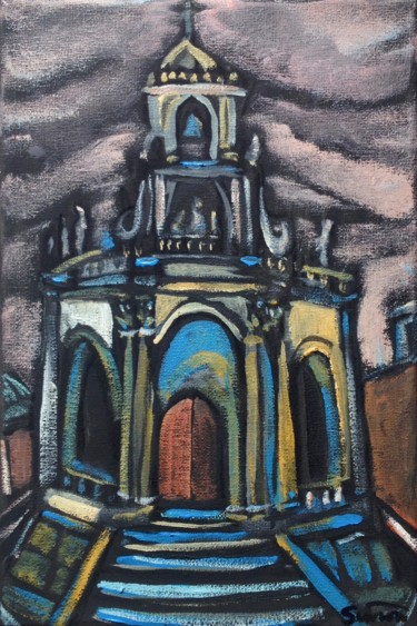 """Painting titled """"san paolo"""" by Simon Taylor, Original Art, Acrylic"""