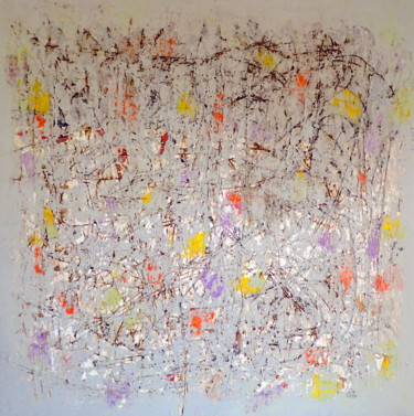 Painting, acrylic, abstract, artwork by Sio Montera
