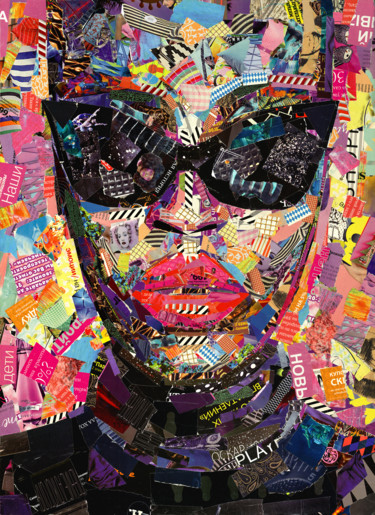 """Collages titled """"glamour"""" by Слава Зайцев, Original Art, Collages"""
