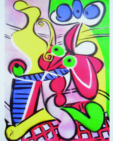 """Painting titled """"Other People's Pain…"""" by Sly Art, Original Art, Acrylic"""