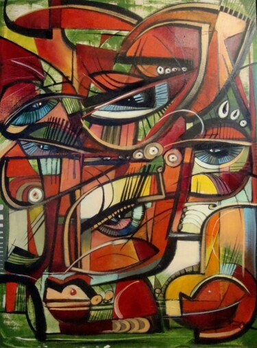 """Painting titled """"OBSESSION IV"""" by Sonja Brzak, Original Art, Oil"""