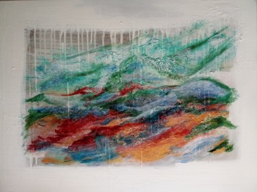 Color Painting, acrylic, abstract, artwork by Sophie Lecesne