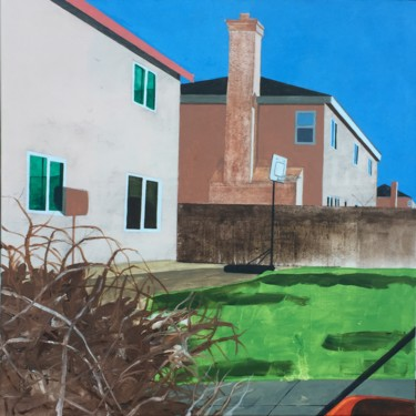 """Painting titled """"The Joys of Suburbia"""" by Sophie Cordery, Original Art, Acrylic"""