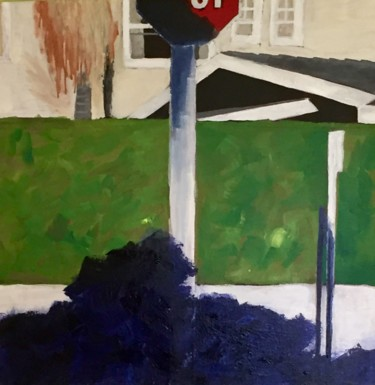 """Painting titled """"Stop!"""" by Sophie Cordery, Original Art, Acrylic"""