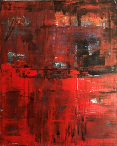 Abstract Painting, acrylic, abstract, artwork by Hervé Souffi