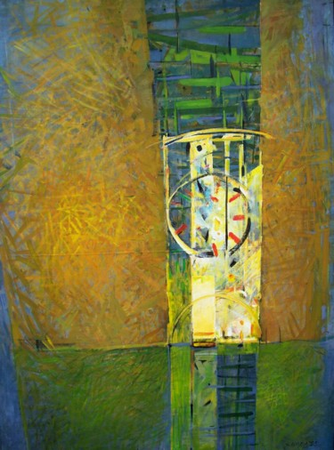 """Painting titled """"Light Tower"""" by Stan Bigda, Original Art, Acrylic"""