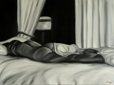 """Painting titled """"In bed 10"""" by Stanimir Stoykov, Original Art, Oil"""