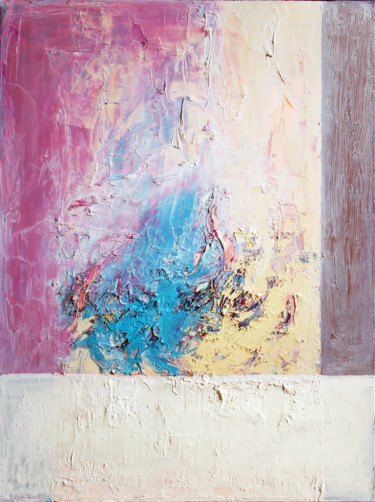 """Painting titled """"Morning abstraction"""" by Stas Royze, Original Art, Oil Mounted on Stretcher frame"""