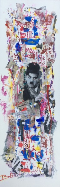 """Collages titled """"CHARLOT"""" by Bad, Original Art,"""