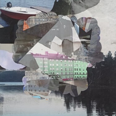 """Collages titled """"Untitled 2021-09-30"""" by Stefan Fransson, Original Art, Collages"""